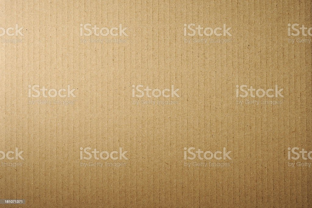 Close-up of brown cardboard texture background royalty-free stock photo