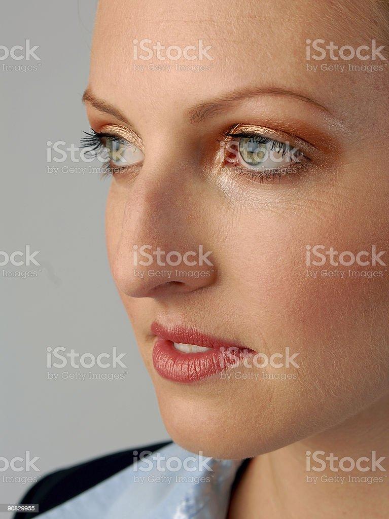 Closeup of Businesswoman stock photo