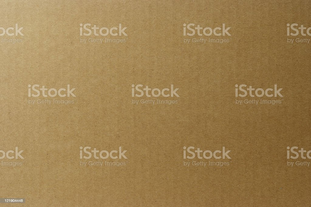 Close-up of cardboard texture background stock photo