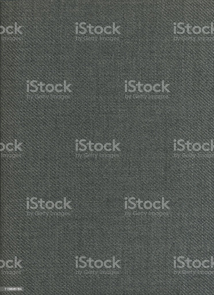 Close-up of charcoal gray textile background royalty-free stock photo