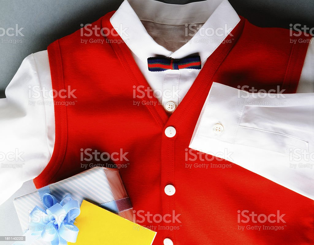 Close-up of children's clothes royalty-free stock photo