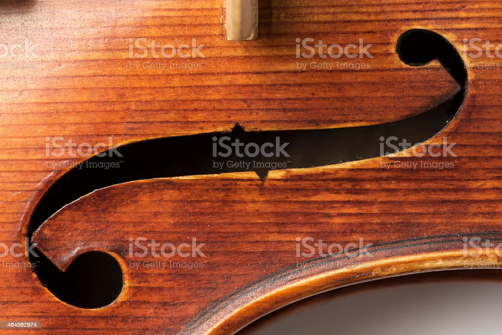Close-up of Classical Violin, Viola board stock photo