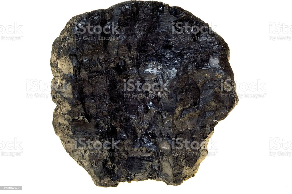 Close-up of coal royalty-free stock photo