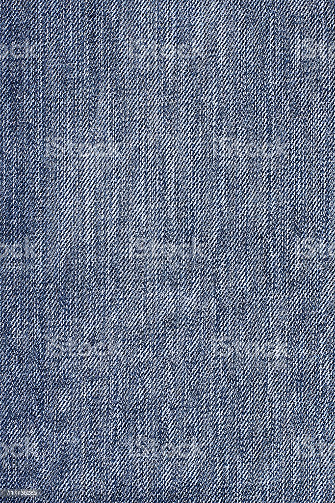 Close-up of denim cloth royalty-free stock photo