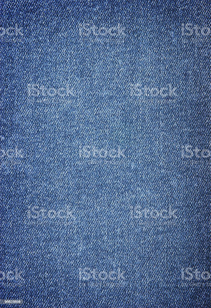 Close-up of denim cloth texture royalty-free stock photo