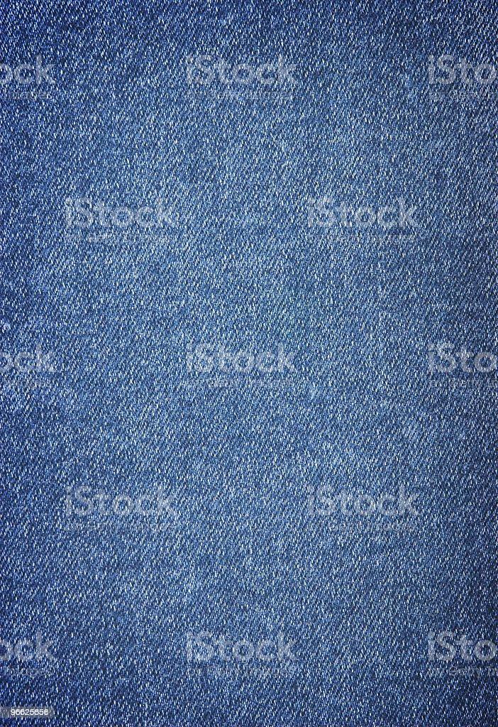 Close-up of denim cloth texture stock photo