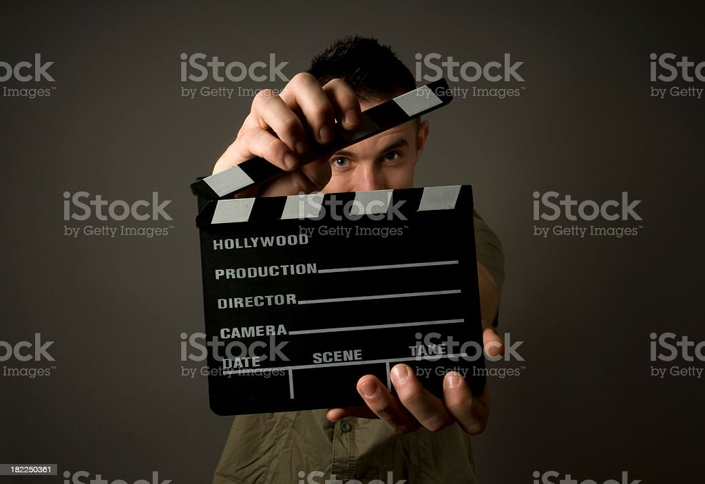 Closeup of directors board ready to be shut royalty-free stock photo