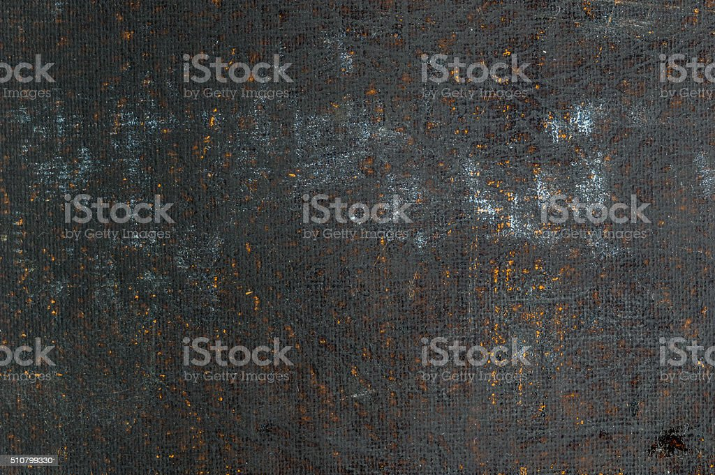 Close-up of distressed vintage book cover. stock photo