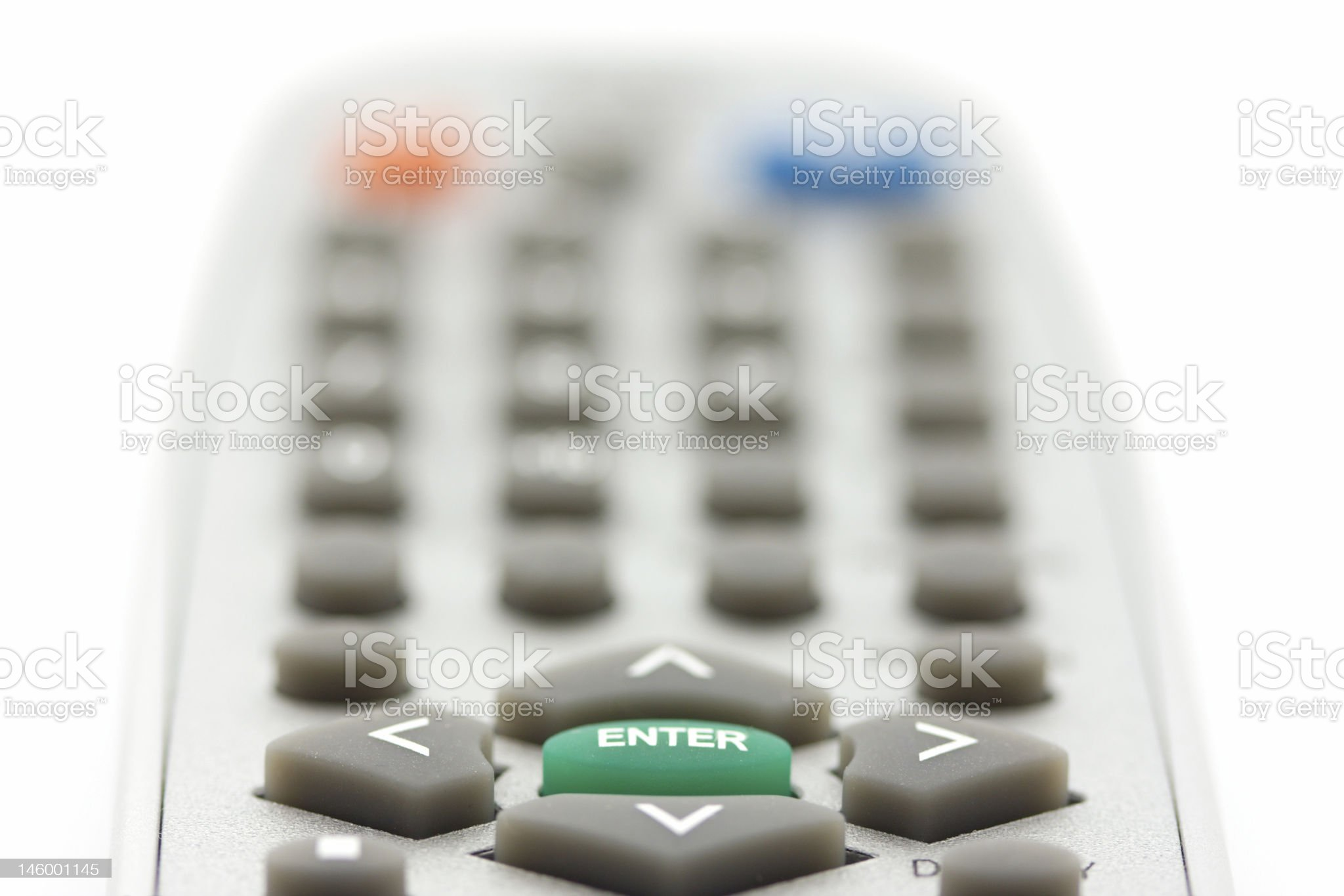Closeup of enter and arrow buttons royalty-free stock photo