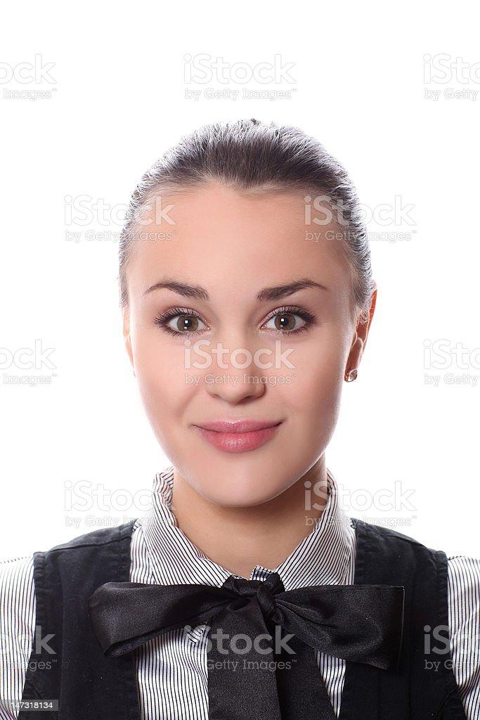 Gros plan de femme visage photo libre de droits