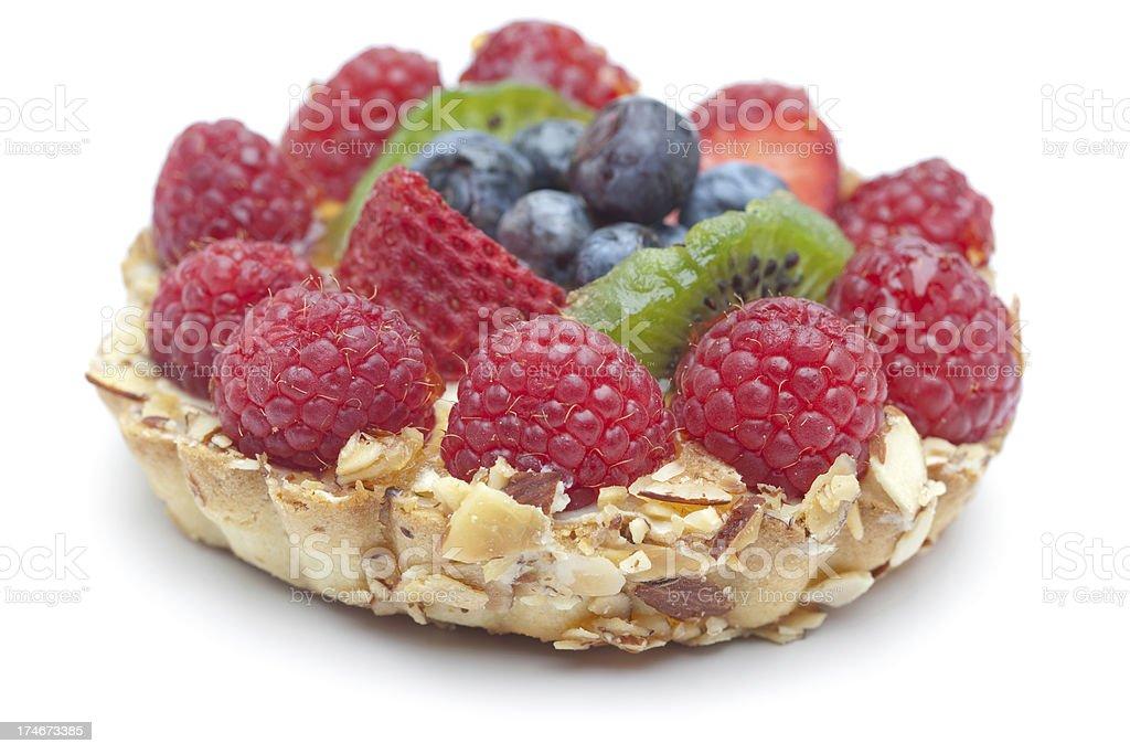 Close-up of Fruit Tart royalty-free stock photo