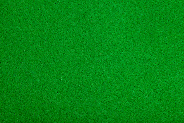 ... Close-up of green poker table felt background stock photo ... - Poker Table Felt Backgrounds Pictures, Images And Stock Photos