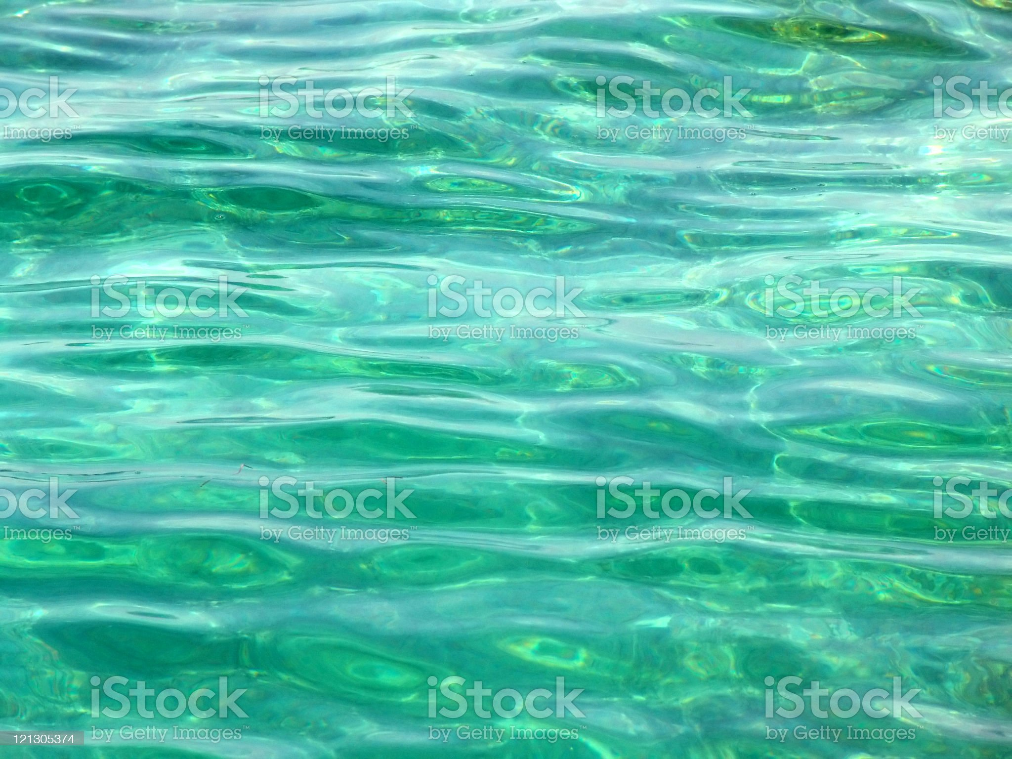 A close-up of green wavy ocean water royalty-free stock photo