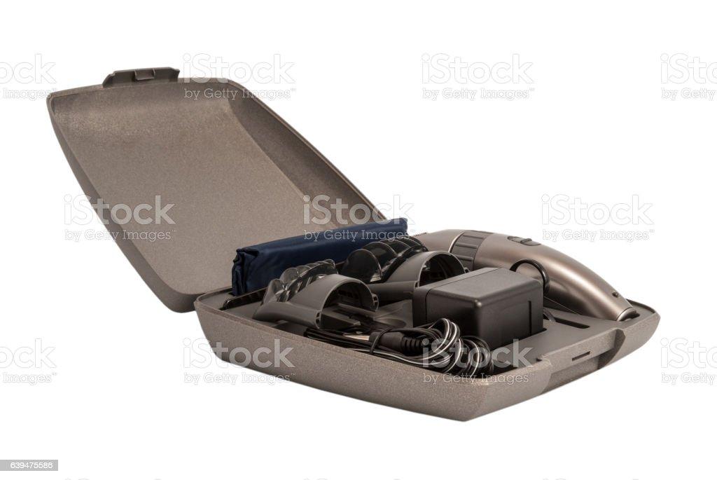 Closeup of hairclipper stock photo