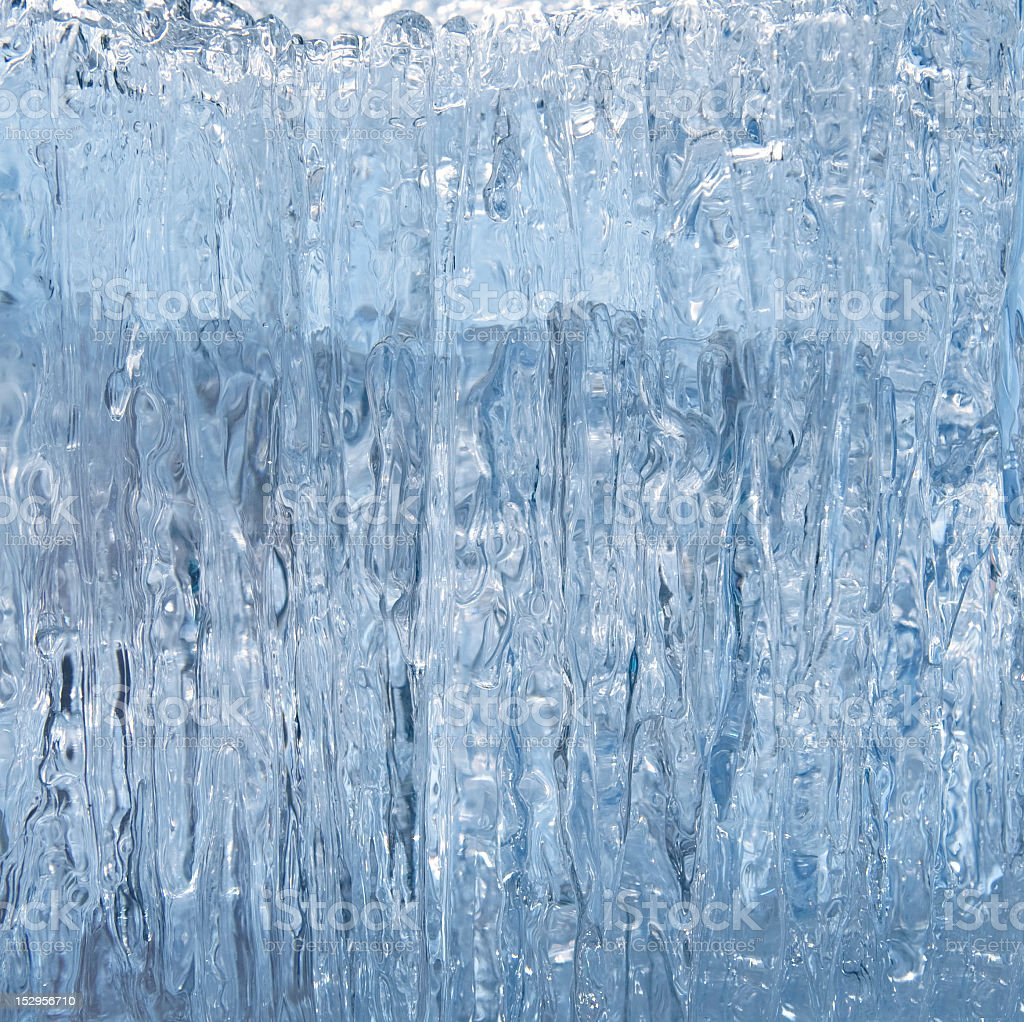 Close-up of hanging icicles background royalty-free stock photo