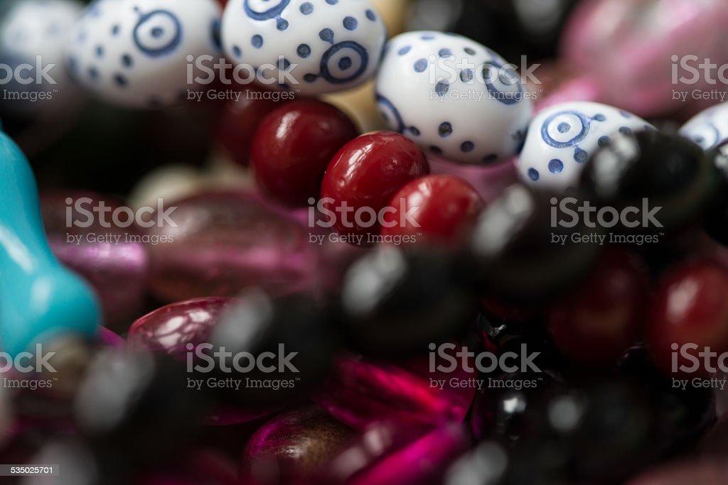 Close-Up Of Islamic Prayer Beads stock photo