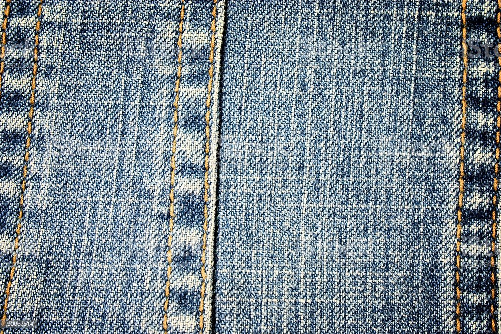 Close-up of jeans stock photo