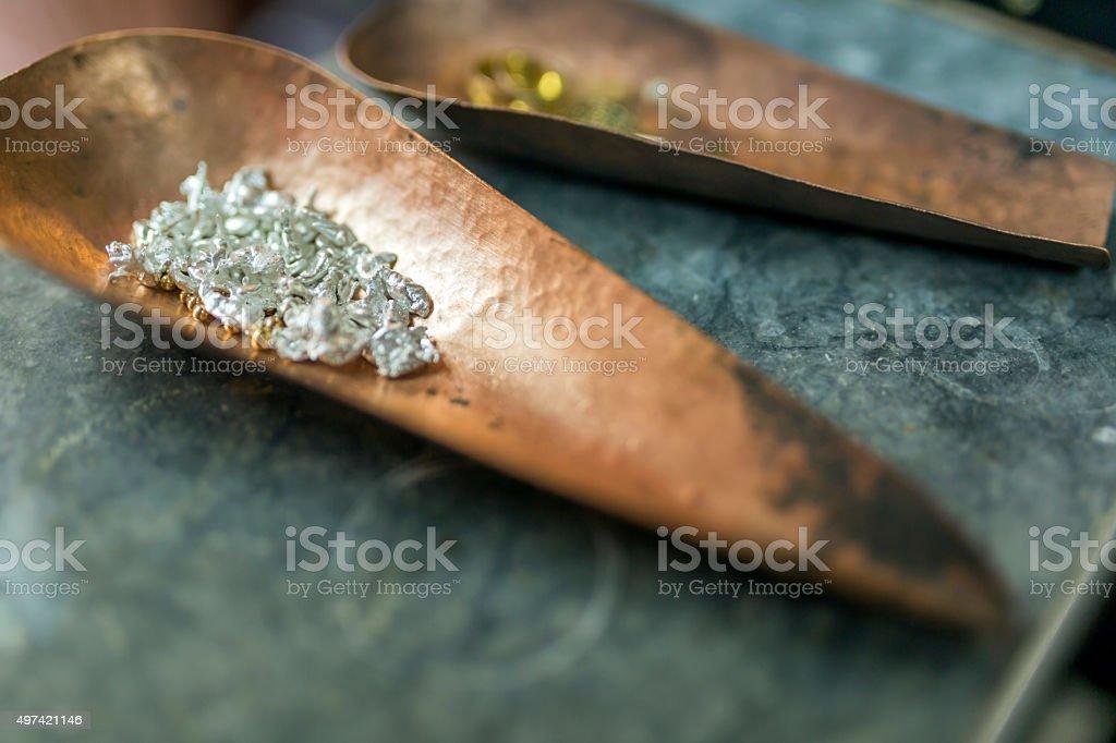 Closeup of jewelry stock photo