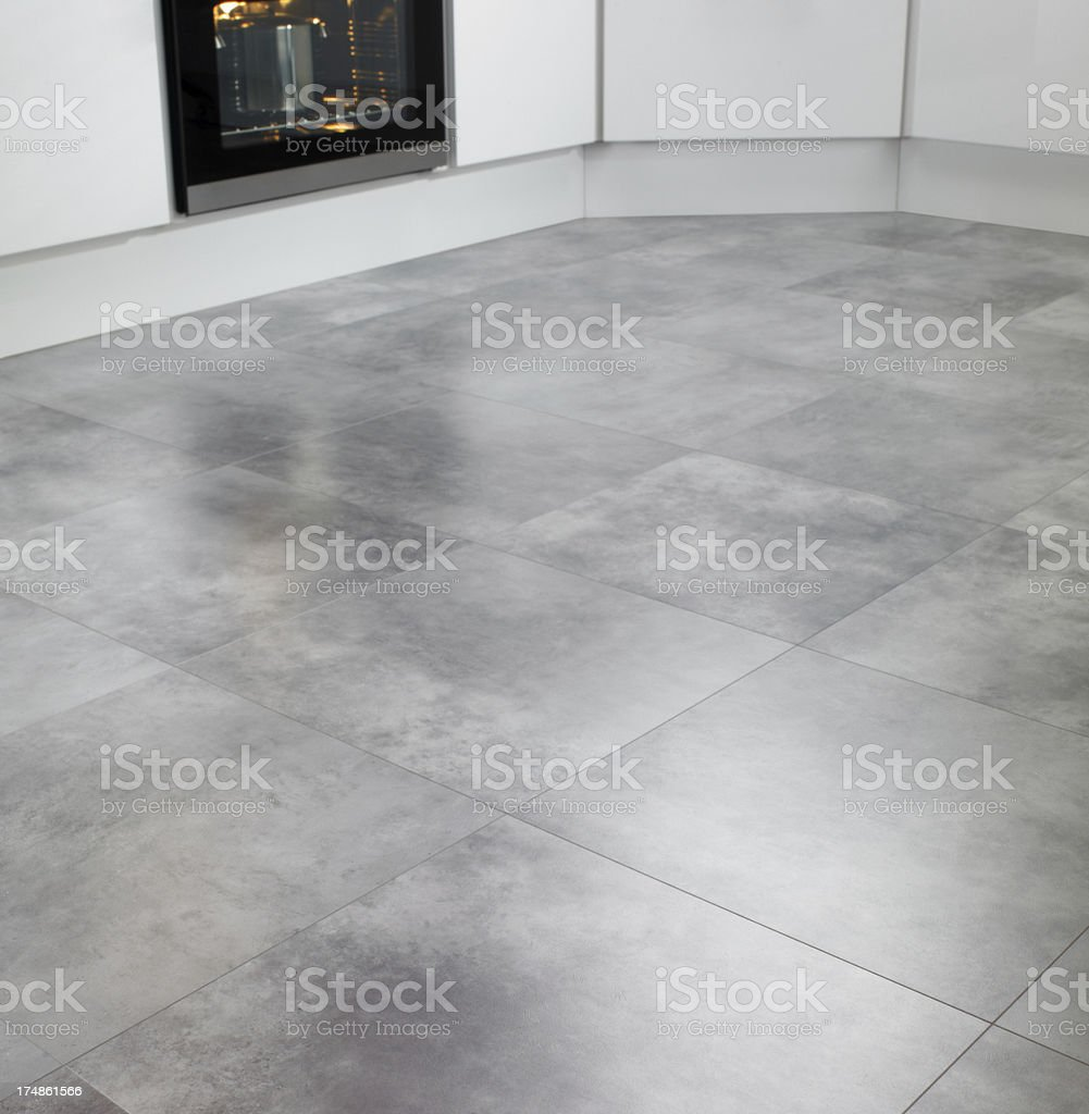 Closeup of kitchen tiles stock photo