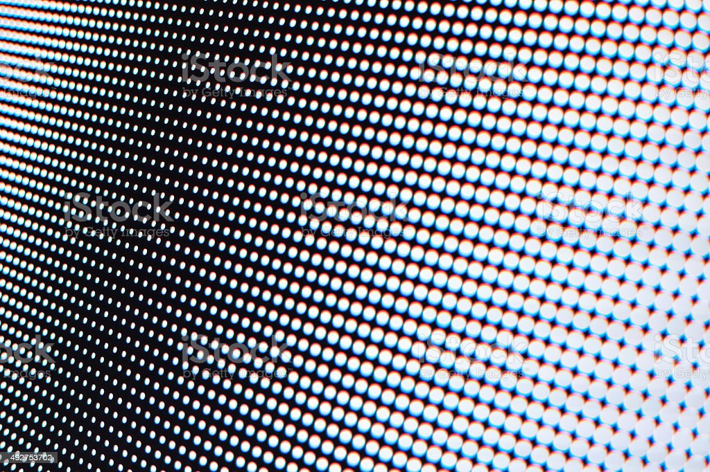 Close-up of LCD Screen Background stock photo