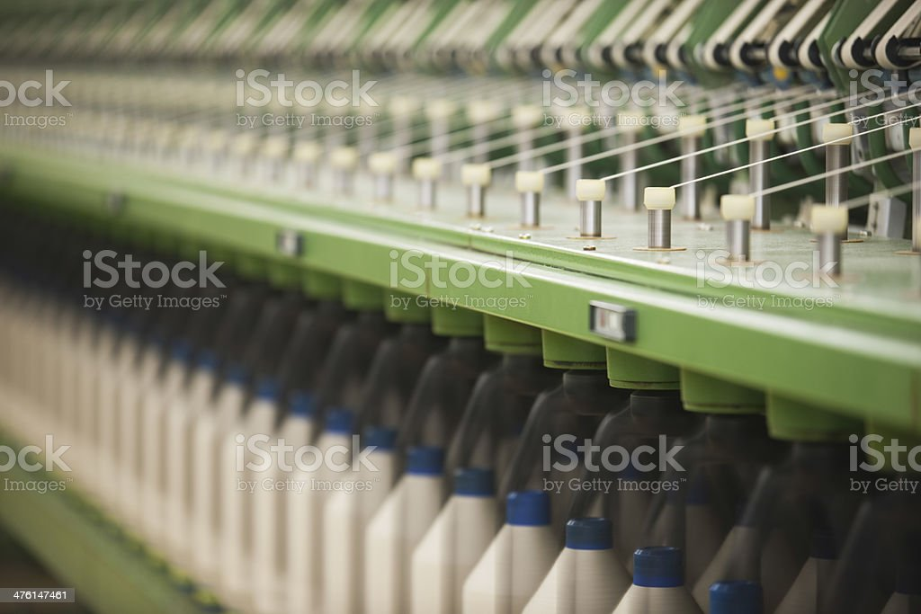 Closeup Of Machinery Part royalty-free stock photo