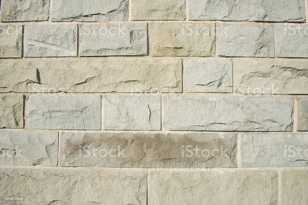 Close-up of marble brick wall with embossing royalty-free stock photo