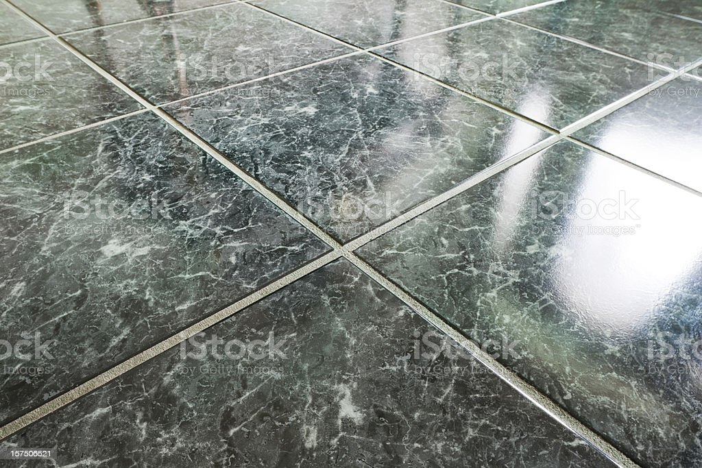 closeup of marble floor and tile patterns stock photo