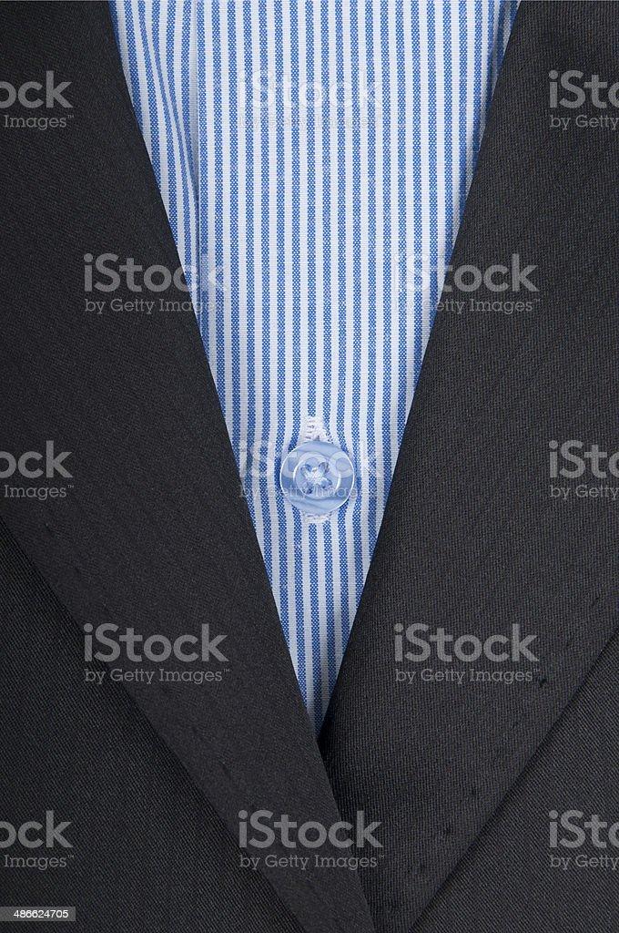 close-up of mens shirt stock photo