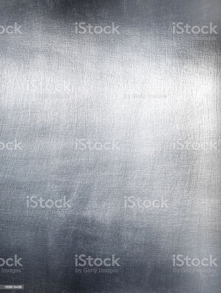 Close-up of metal plate with light refletion royalty-free stock photo