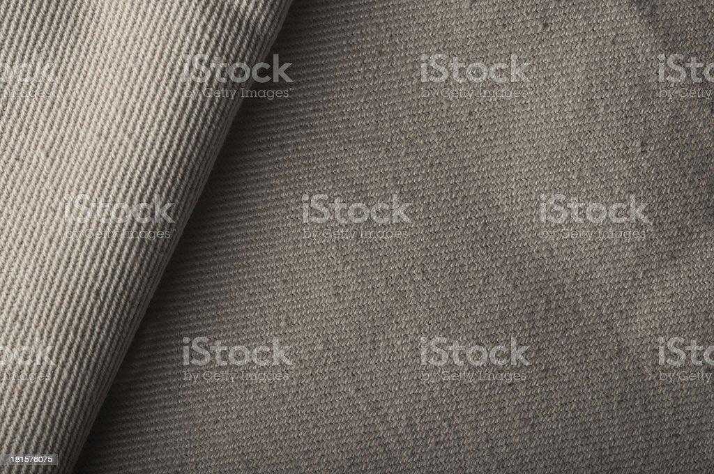 Closeup of natural burlap royalty-free stock photo
