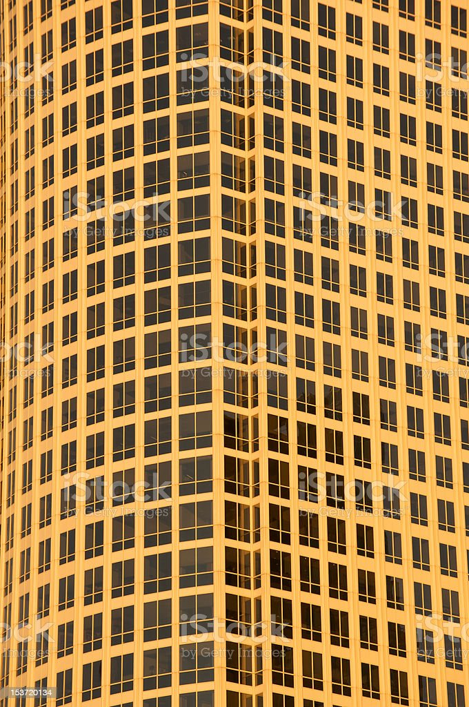 Closeup of office building royalty-free stock photo