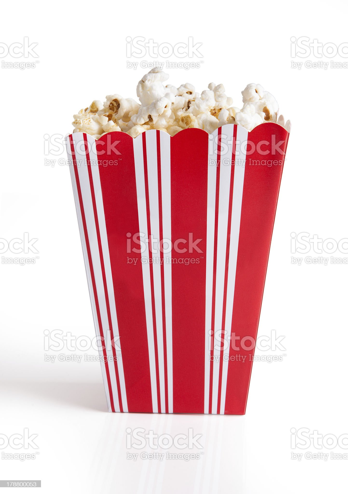 Close-up Of Popcorn Bucket royalty-free stock photo