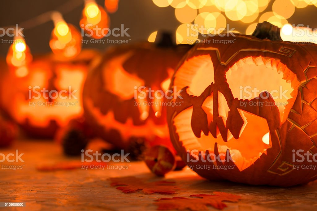 Close-up of pumpkin stock photo