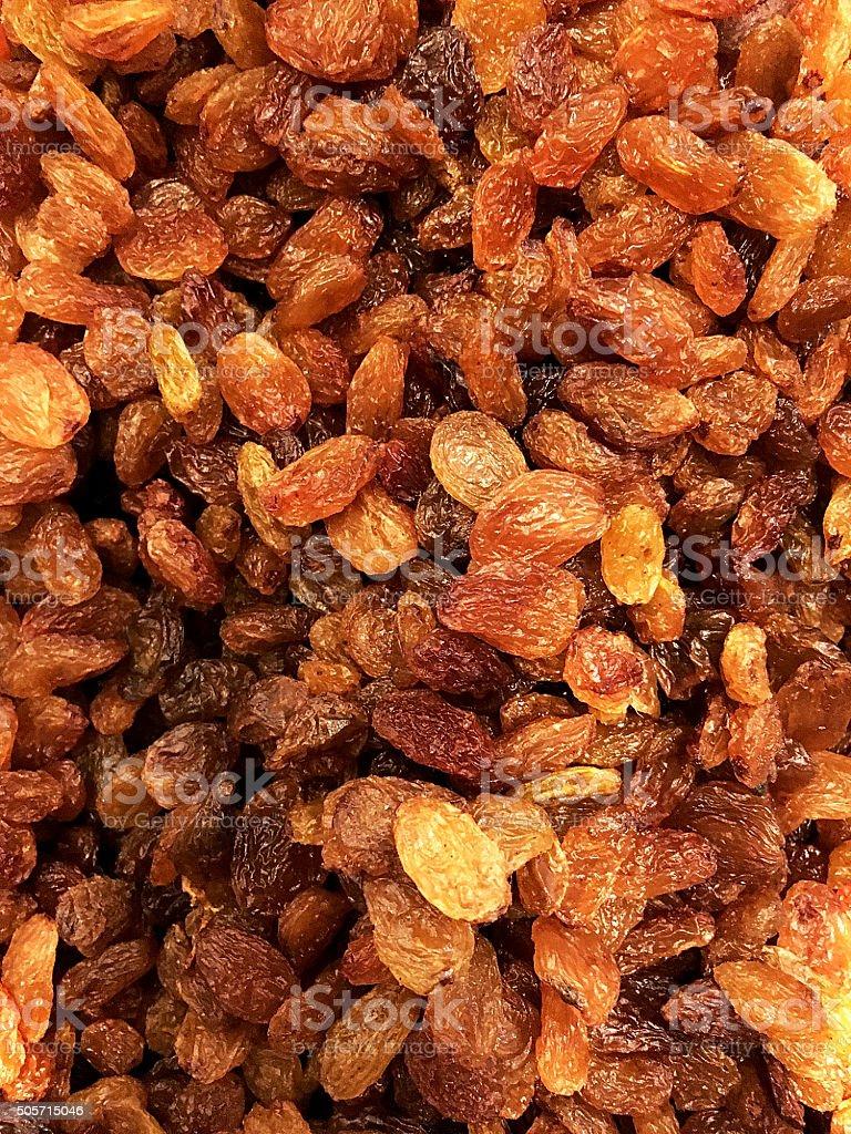 Close-up of Raisins stock photo