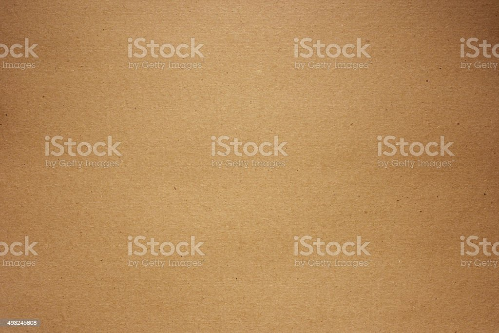 Close-up of recycling brown cardboard texture background stock photo