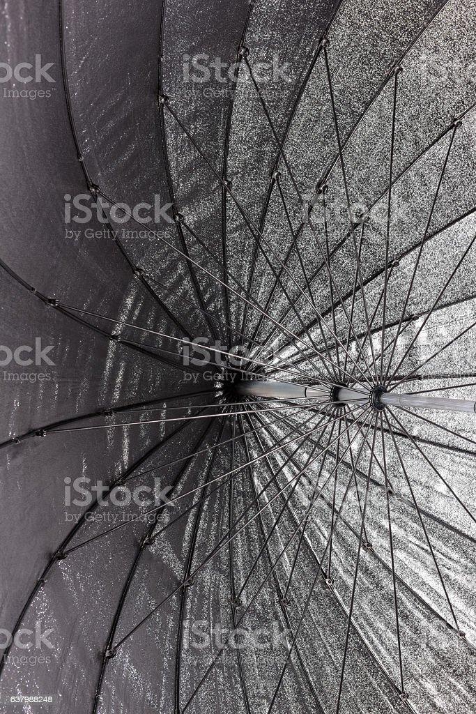 Closeup of Reflector stock photo