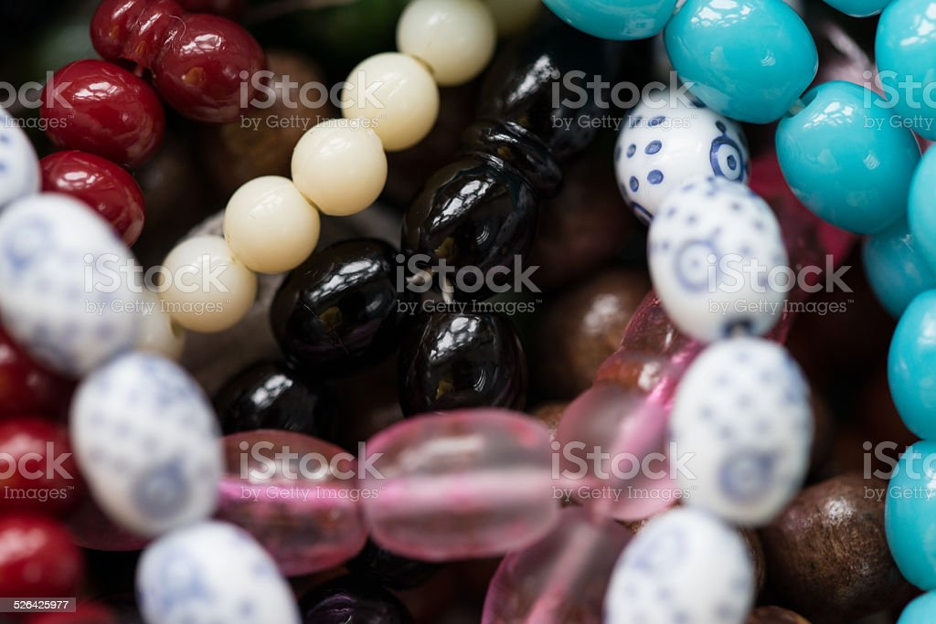 Close-Up Of Rosary stock photo