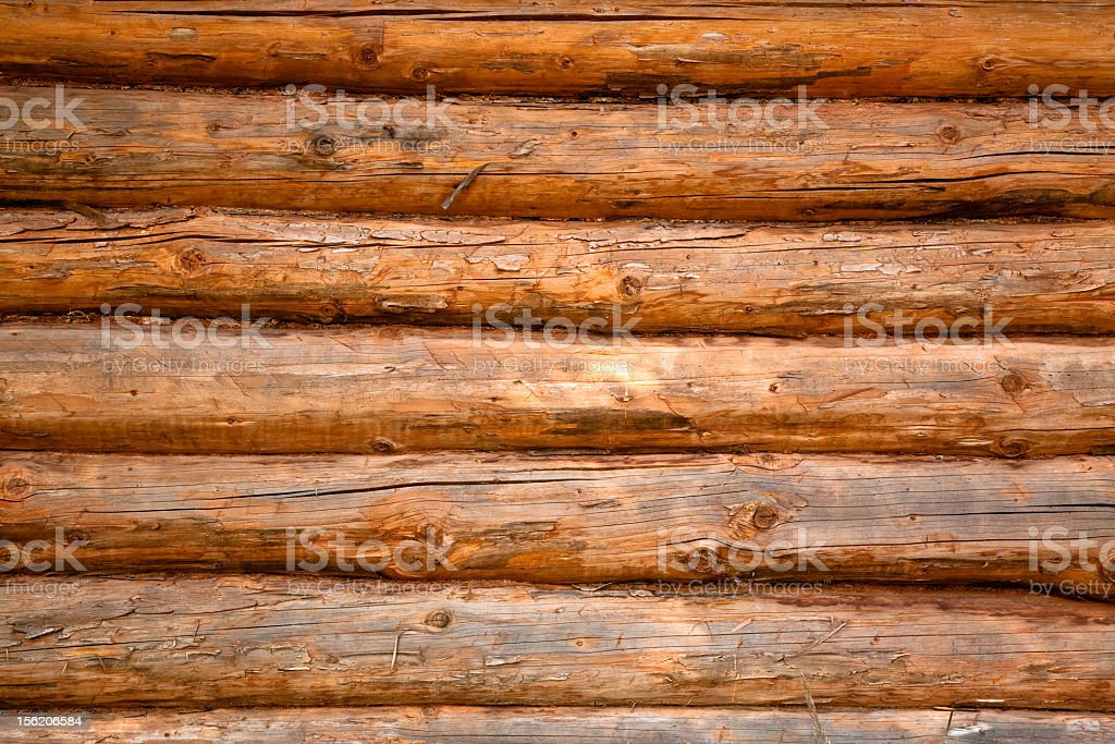 Close-up of rough wooden planks stock photo