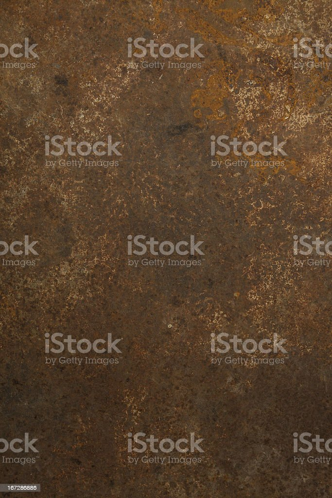 Close-up of rusty iron texture background royalty-free stock photo