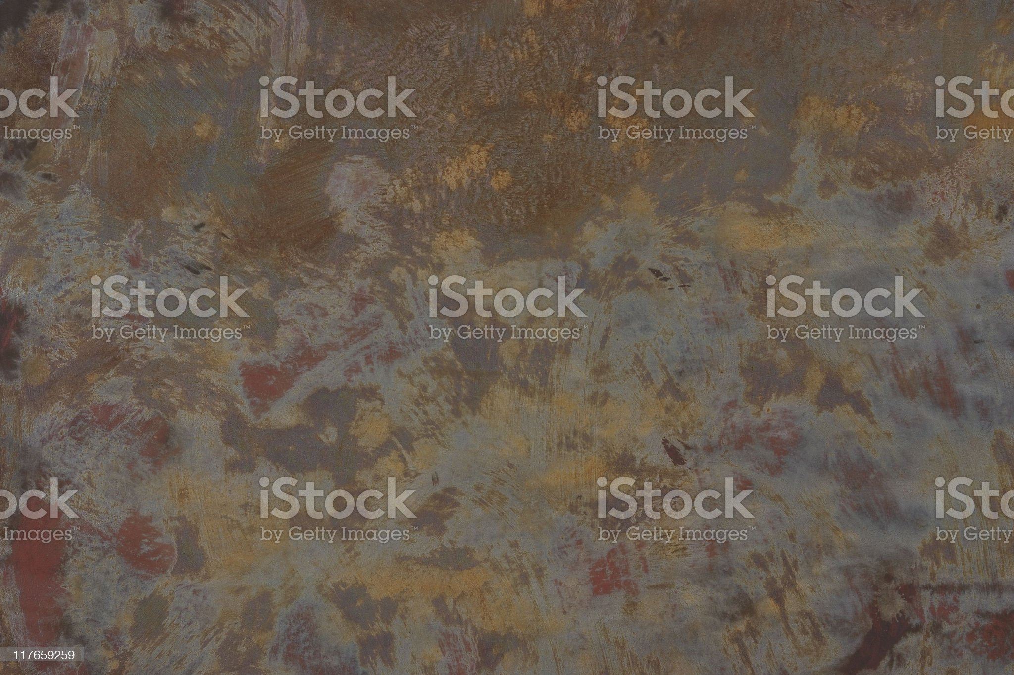 Close-up of rusty steel background royalty-free stock photo