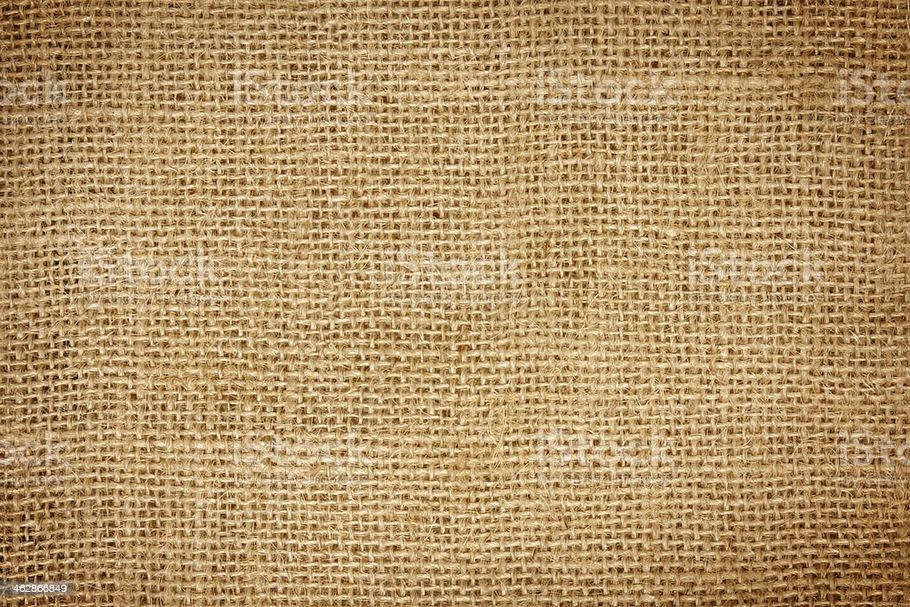 Closeup of  sack  texture royalty-free stock photo