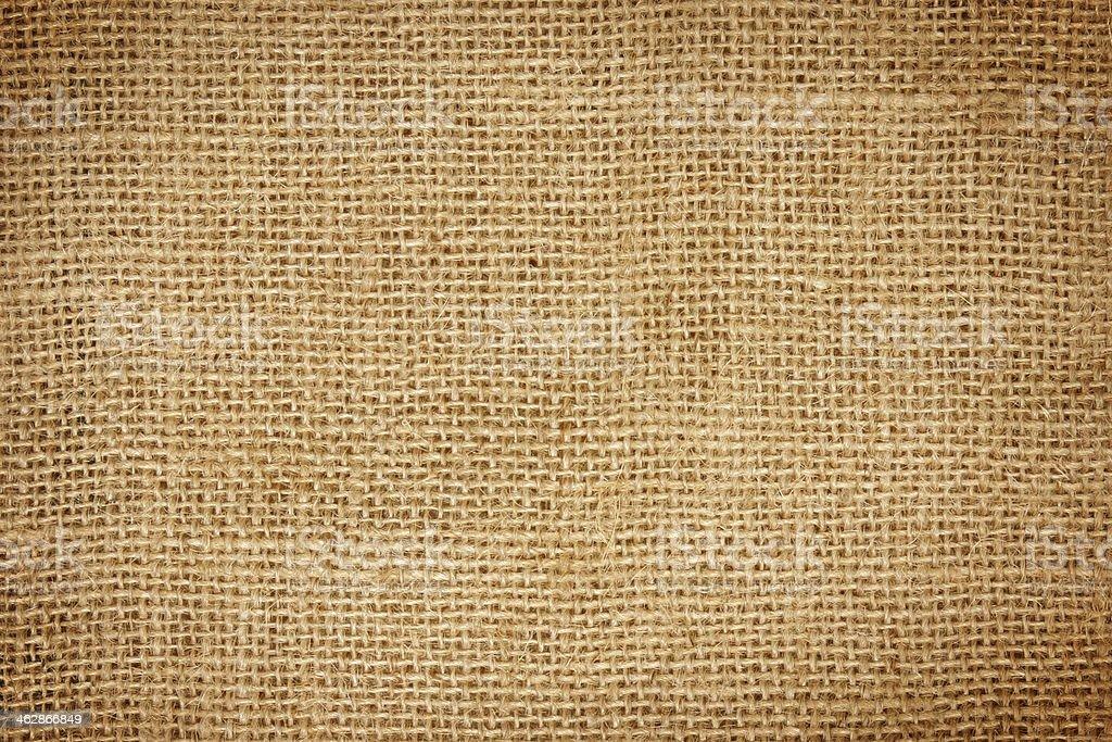 Closeup of  sack  texture stock photo