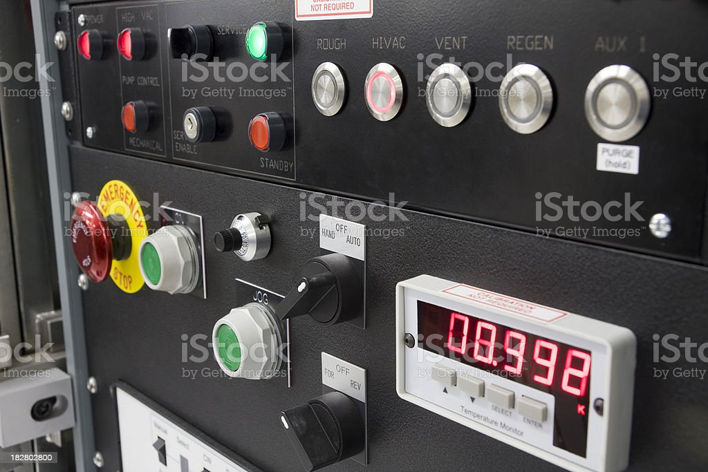 Close-up of Scientific Equipment royalty-free stock photo