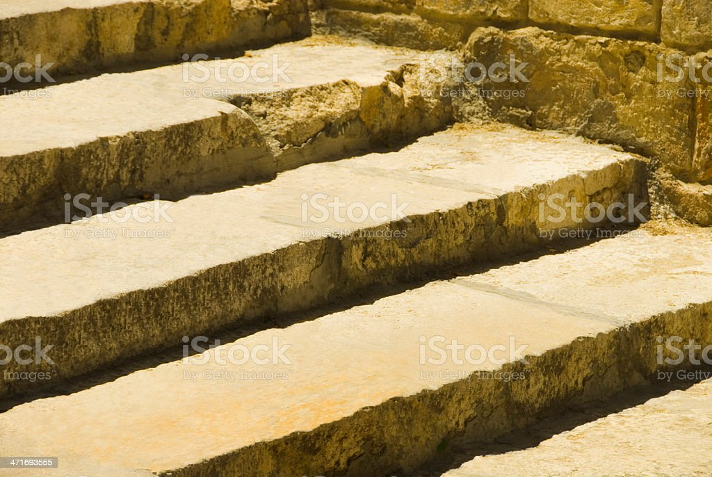 Close-up of steps royalty-free stock photo
