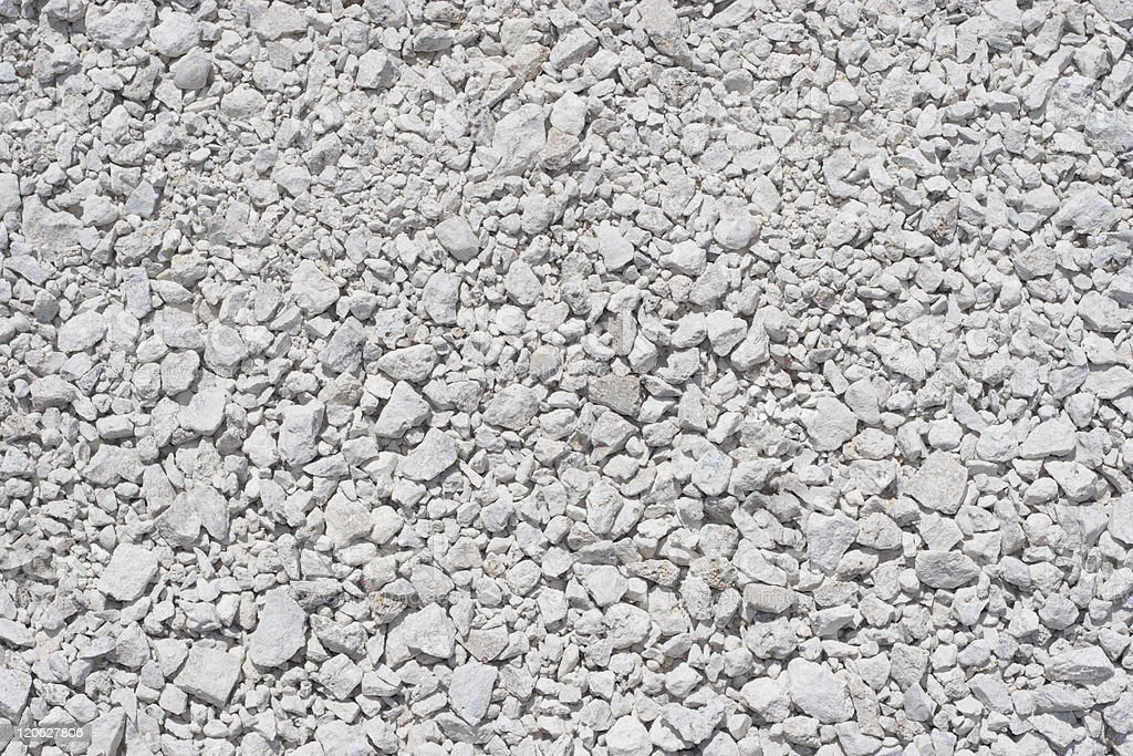 Close-up of stone gravel texture stock photo
