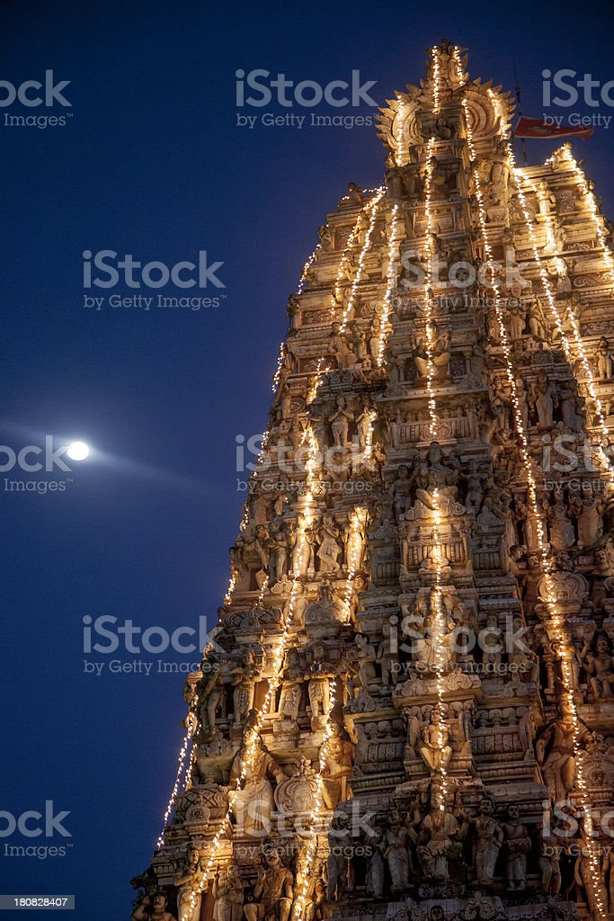 Close-up Of Temple stock photo