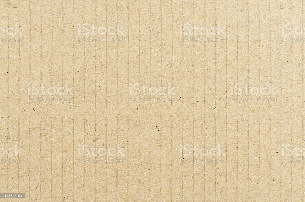 Closeup of textured recycled cardboard royalty-free stock photo