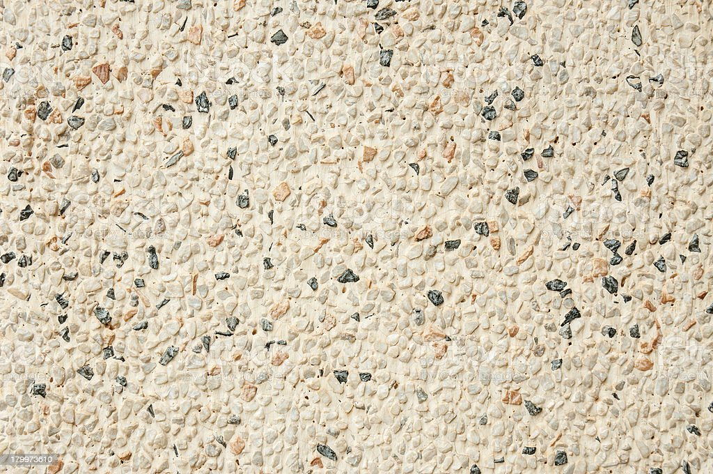 closeup of textured stone wall royalty-free stock photo