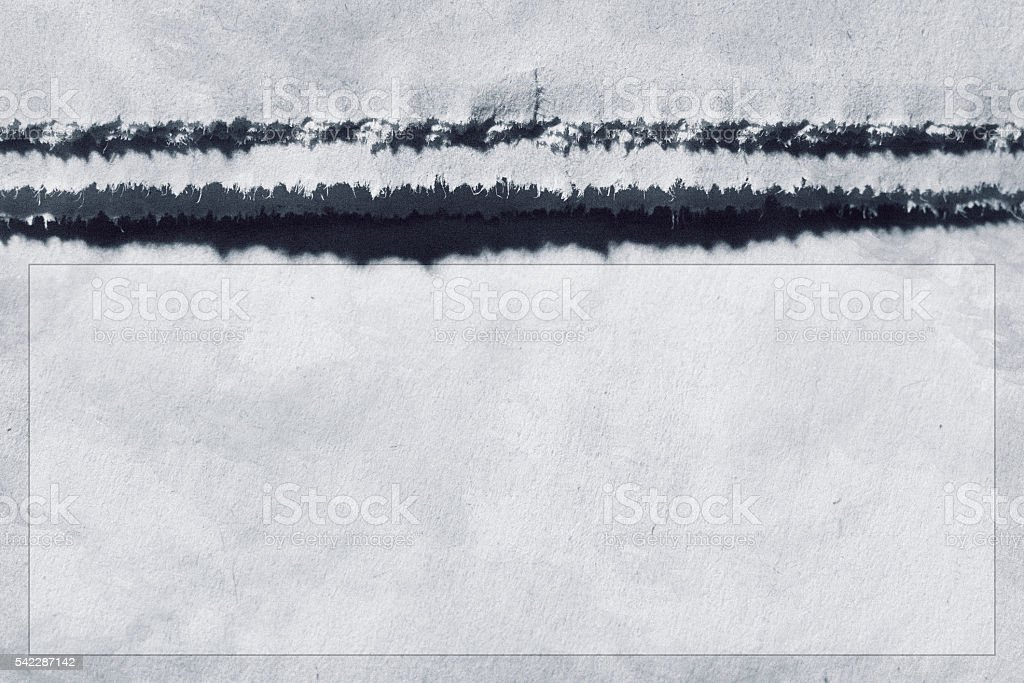 Close-up of the edge of a newspaper with a textbox stock photo