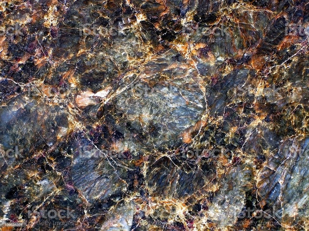 Close-up of the texture and design in black marble royalty-free stock photo
